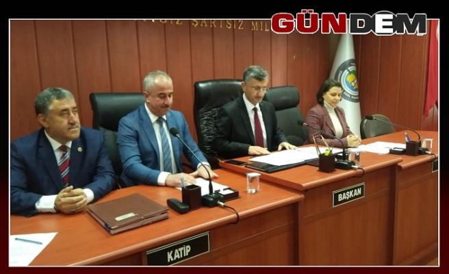 Vali Bektaş'tan meclis üyelerine veda ziyareti