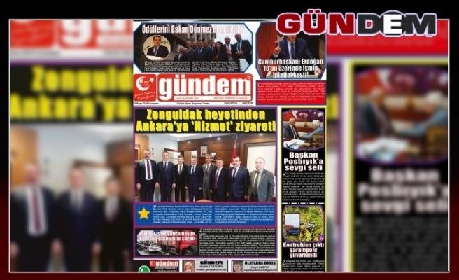 20 Nisan 2019 Cumartesi Gündem Gazetesi