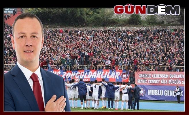 Alan, Zonguldakspor'a tesis sözü verdi...
