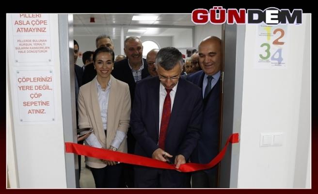 Eğitim Laboratuvarı törenle açıldı