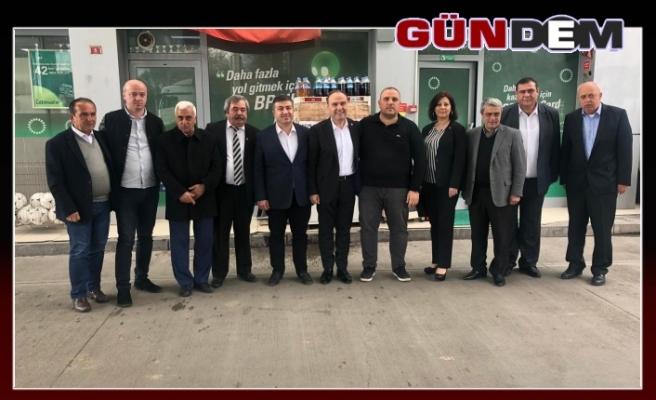 Harun Akın'dan Çebi Gruba' ziyaret