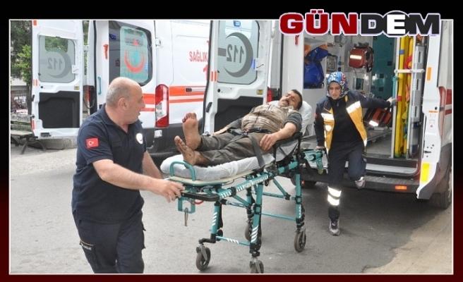 İş kazası 1 madenci yaralı