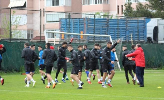 Karabükspor'da Gençlerbirliği maçı hazırlıkları tamamlandı