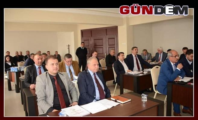 MECLİS TOPLANTISI YAPILDI.