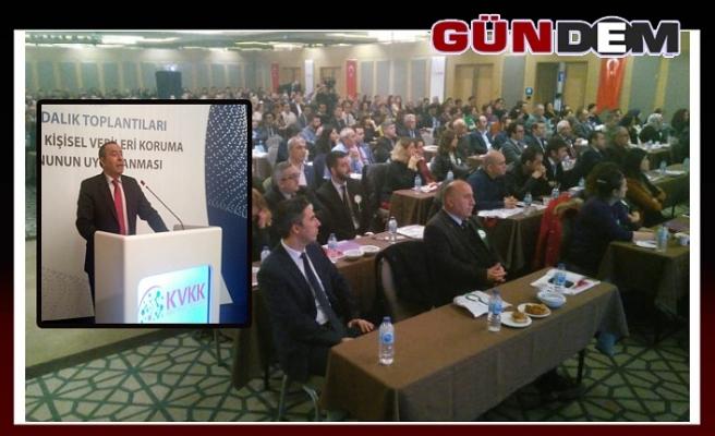 Zonguldak'ta Kişisel Verilerin Korunması Konferansı yapıldı...