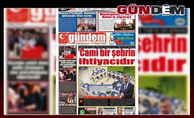 14 MAYIS 2019 SALI GÜNDEM GAZETESİ
