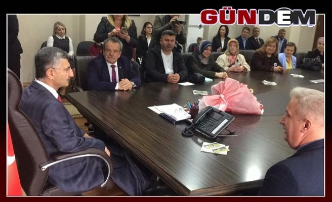 Başkan Şirin, Vali Bektaş'tan yeni yer talep etti