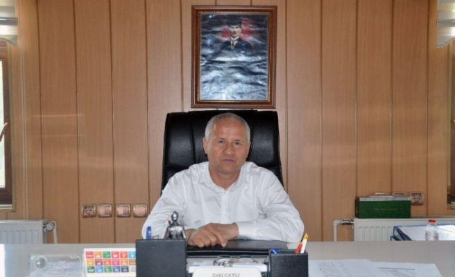 "Başkan Çaylı: "" Doğalgazın takipçisiyiz"""