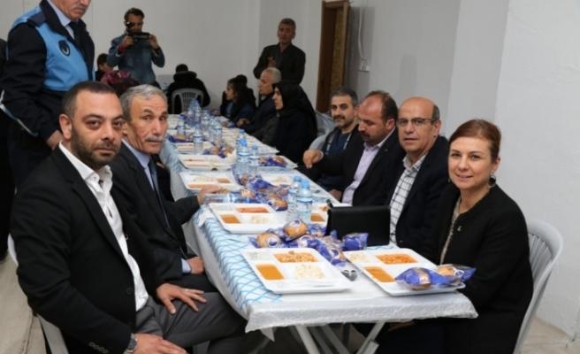 Başkan Köse vatandaşlarla birlikte iftar yaptı
