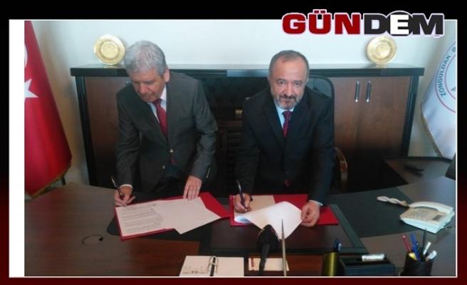 BEÜ'de protokol imzalandı!..