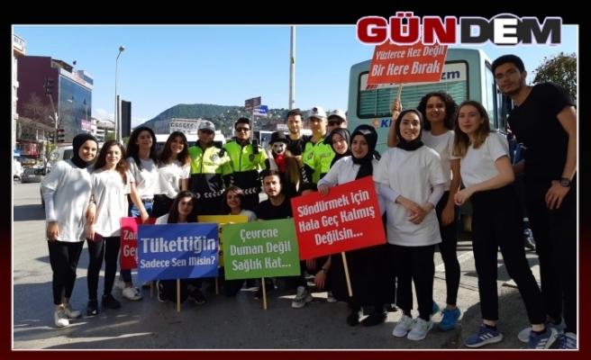 BEÜ öğrencilerinden Zonguldak'ta bir ilk…