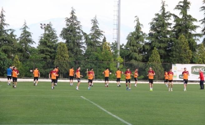 Karabükspor'da Denizlispor maçı hazırlıkları tamamlandı