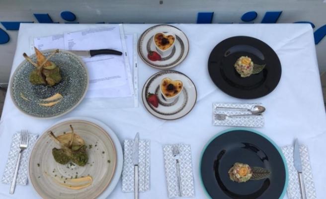 KBÜ aşçılık öğrencileri, Uluslararası Gastronomi Festivali'nde ödül aldı