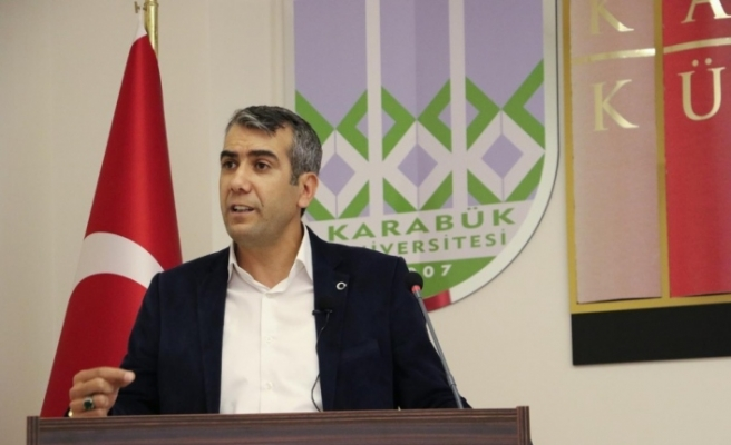 """KBÜ'de """"Pozitif Düşünce ve İletişim"""" konulu konferans"""