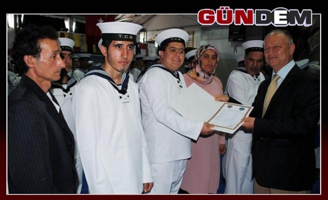 Temsili askerlik töreni düzenlendi