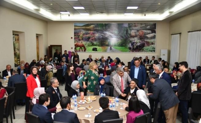 Vali Gürel, Şehit ve Gazi Aileleri ile iftarda bir araya geldi