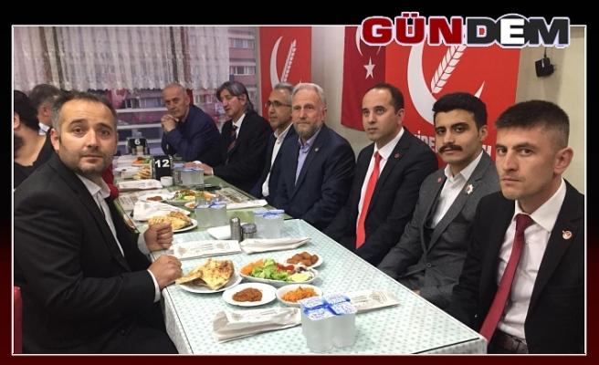 Yeni Refah Partisi iftarda buluştu