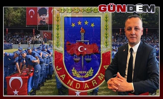 Başkan Alan, Jandarma Teşkilatını kutladı