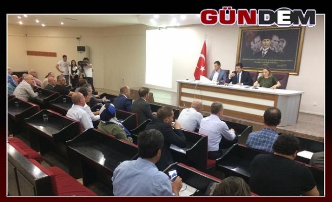 Belediye Meclisi Murat Uzun başlanlığında başladı