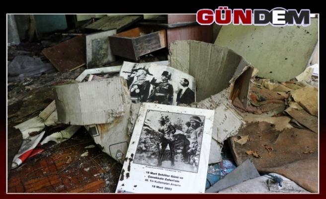 Çanakkale Gazisi'nin hatırası kül oldu!..
