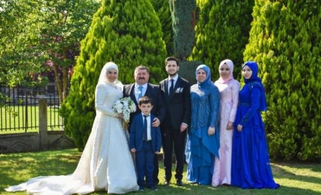Dilber ve Demir ailelerin mutlu günü