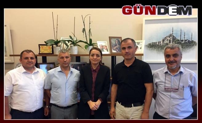 GMİS'ten Oruç'a ziyaret