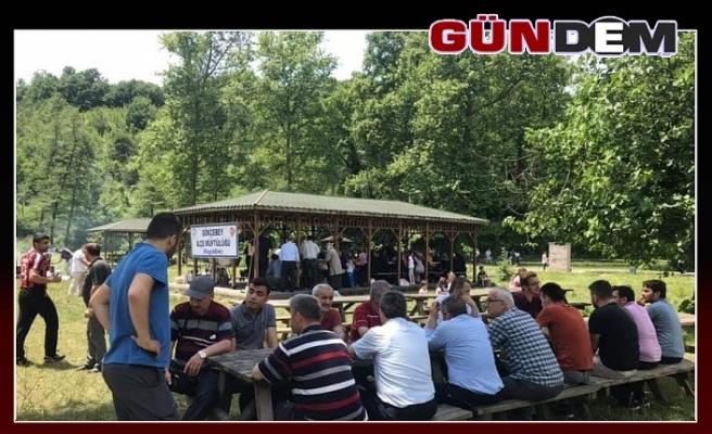 Gökçebey'de vatandaşlar piknikte buluştu!..