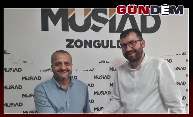 MÜSİAD Zonguldak'ta Salih Kuvvetli dönemi