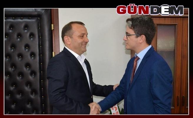 TSO'DAN KAYMAKAM ARIKAN'A ZİYARET...