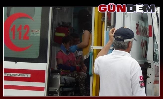 Zincirleme kaza: 2'si çocuk 8 yaralı