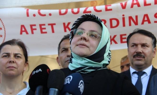 Bakan Selçuk'tan afetzede KOBİ'lere acil destek kredisi müjdesi