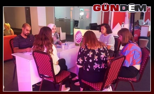 Bartın Üniversitesi, Karadeniz Ereğli'de yoğun ilgi gördü!..