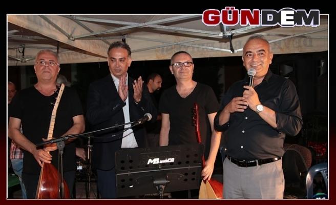 CUMHURİYET MEYDANI'NDA KONSER COŞKUSU