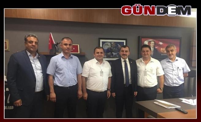 GMİS'ten Çolakoğlu'na ziyaret