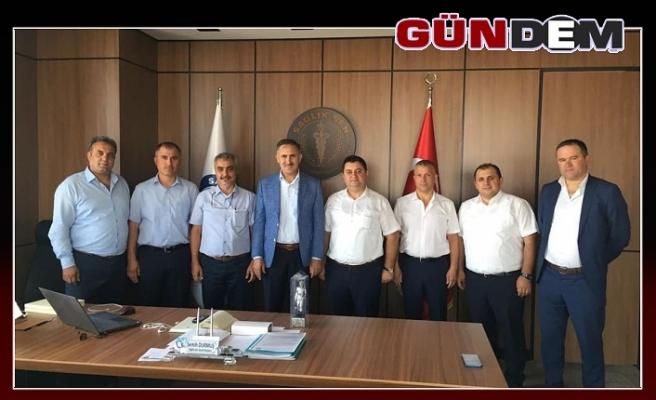GMİS'ten Semih Durmuş'a ziyaret