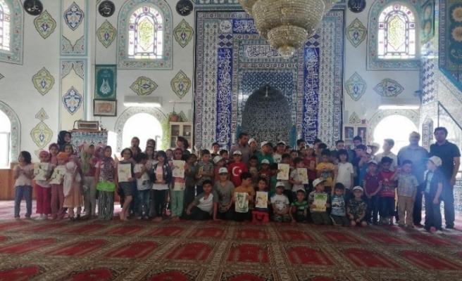 """Karabük'te Tabiat Eğitimleri """"Yaz Kur'an Kursları""""nda da devam Ediyor"""