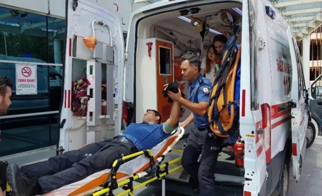 Komiser yardımcısı silah temizlerken elinden vuruldu