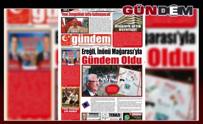 03 AĞUSTOS 2019 CUMARTESİ GÜNDEM GAZETESİ