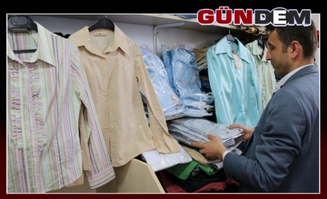 Belediyeden bayramlık giysi yardımı!..