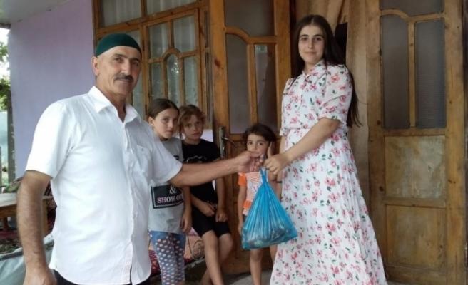 DATÜB kurban bayramında Ahıska Türkleri'ni unutmadı