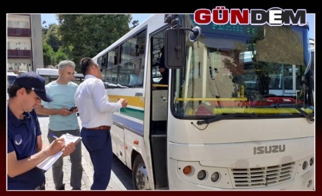 HALK OTOBÜSLERİ DENETLENDİ!..