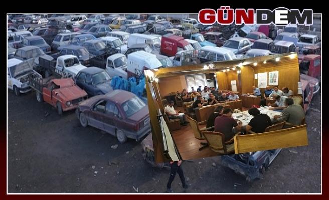 Hurda Araçlar paraya çevrildi!..