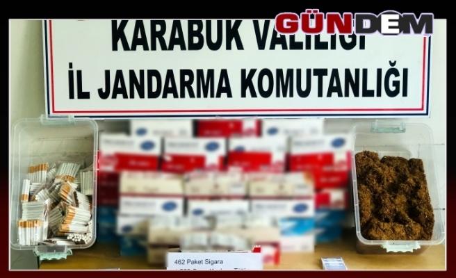 Jandarma'dan kaçak sigara operasyonu!..