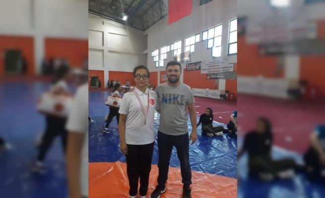 Zonguldaklı Güreşci milli takım kampında!...