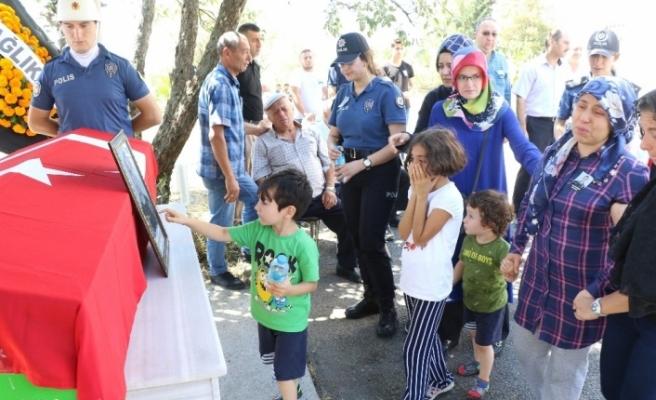 Polis eşinin feryadı yürekleri dağladı