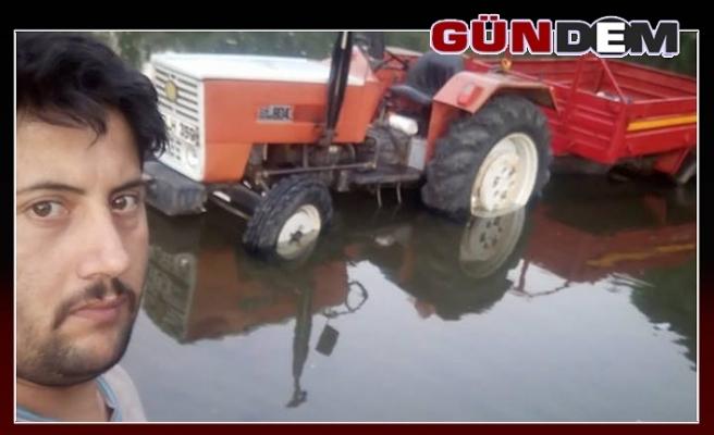 Traktörün altında kalarak can verdi!..