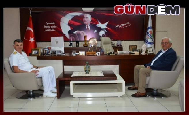 Yazıcıoğlu'dan Posbıyık'a veda ziyareti