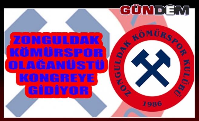 Zonguldak Kömürspor olağanüstü kongreye gidiyor