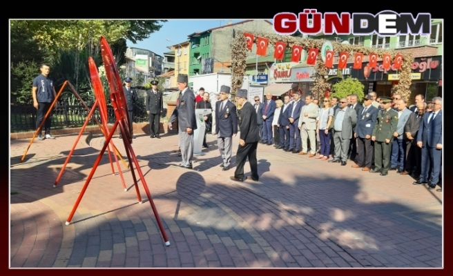 Çaycuma'da 19 Eylül Gaziler Günü kutlandı