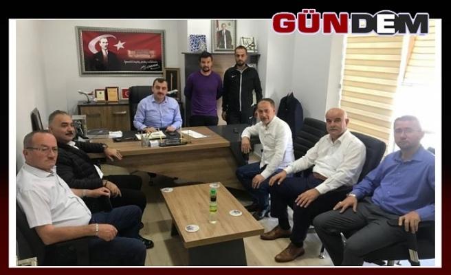 Demir'den Çolakoğlu'na ziyaret